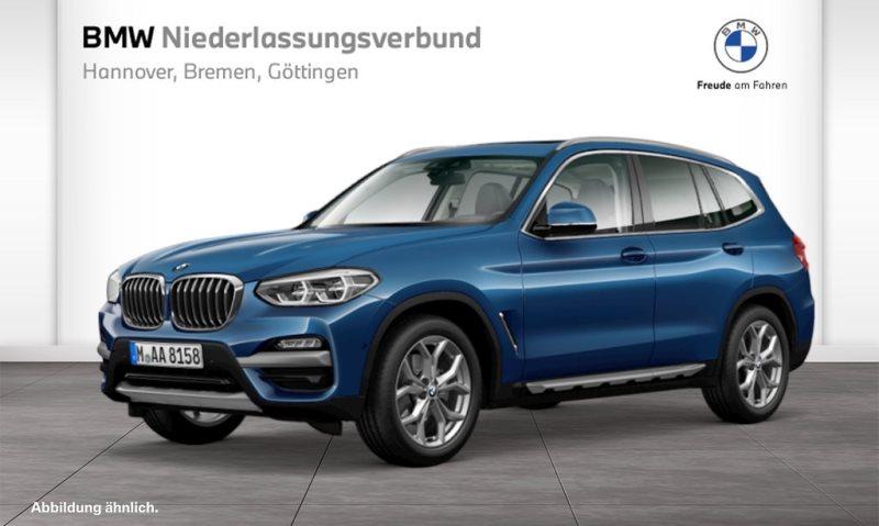 BMW X3 xDrive20d xLine Head-Up HK HiFi DAB LED, Jahr 2020, Diesel