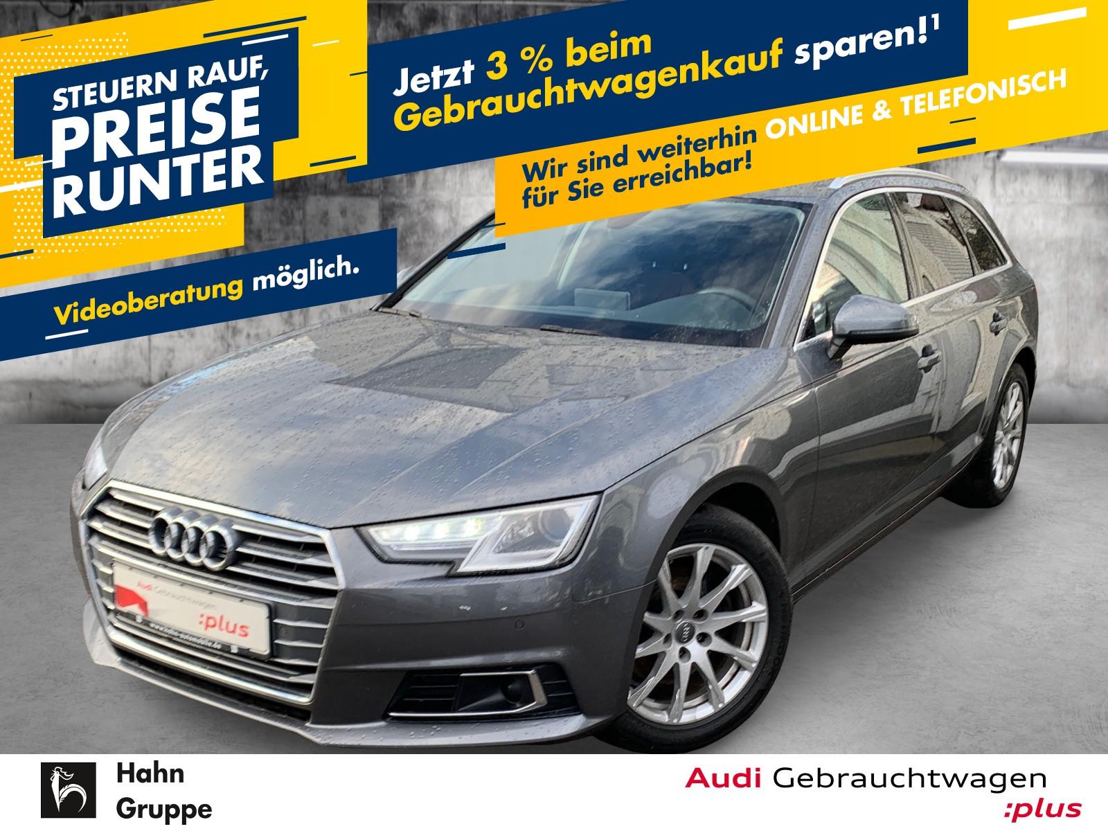 Audi A4 Avant 2.0TDI S-trc Navi Xen Einpark Klima, Jahr 2017, Diesel