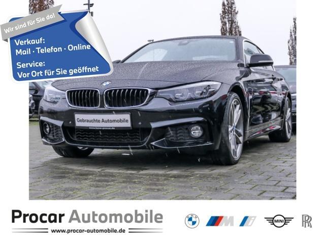 BMW 430i xDrive Coupe M Sport Navi Prof. Head-Up LED, Jahr 2017, Benzin