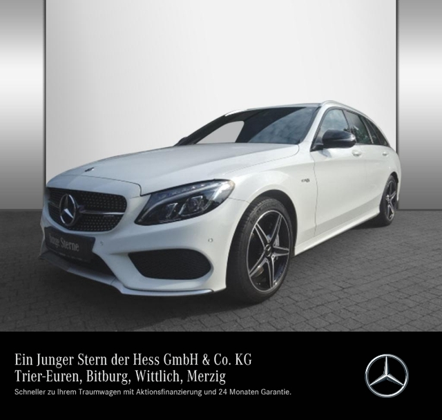Mercedes-Benz AMG C 43 4M T Comand+LED+Kamera+PDC, Jahr 2017, Benzin