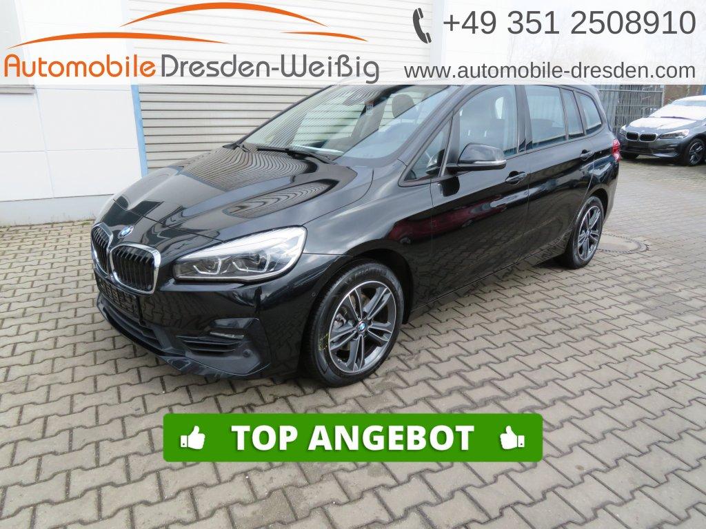 BMW 216 Gran Tourer i Sport Line*Navi*UPE 39.390€, Jahr 2019, Benzin