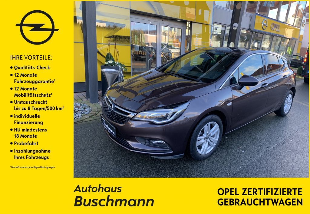 Opel Astra 1.4 Turbo Active, Jahr 2017, Benzin