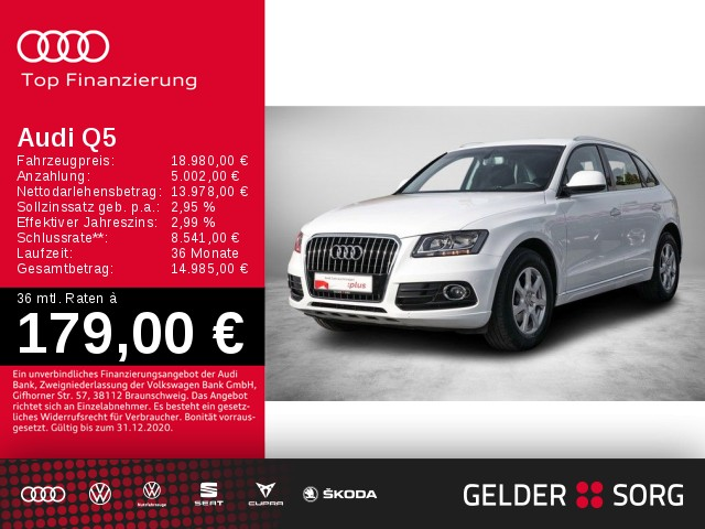 Audi Q5 2.0 TDI *GRA*PDC*Sitzheizung*, Jahr 2016, Diesel