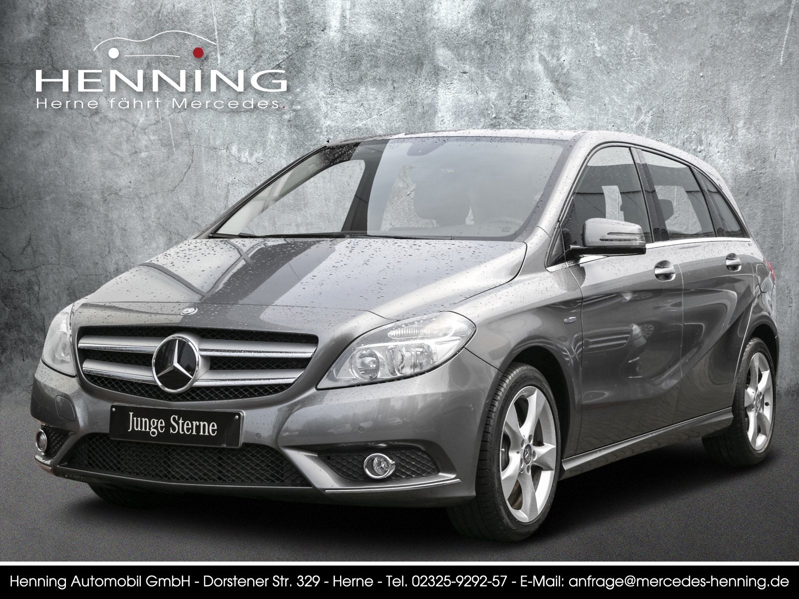 Mercedes-Benz B 200 BlueEfficiency Klima LED Sitzhzg Sport-Pak, Jahr 2012, petrol
