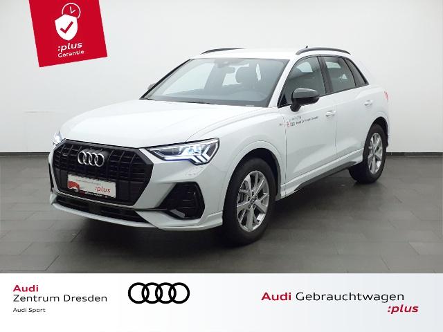 Audi Q3 S line 45TFSI qauttro Matrix LED AHZV, Jahr 2019, Benzin