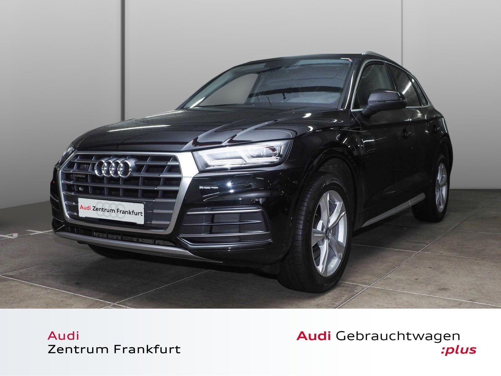 "Audi Q5 2.0 TDI quattro sport S tronic Navi Alu19"" LED AHK VirtualCockpit, Jahr 2017, diesel"