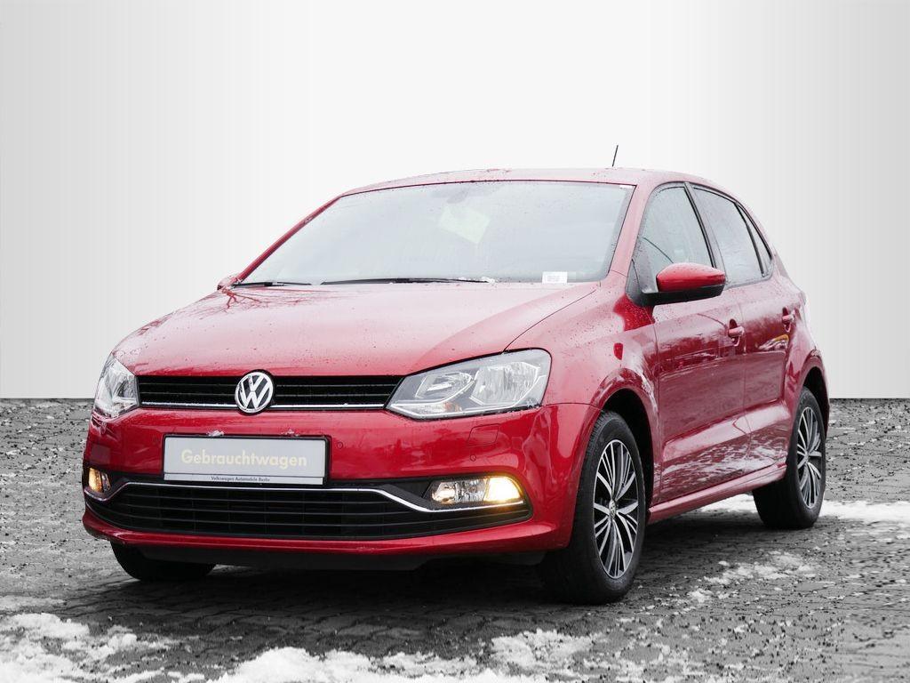 Volkswagen Polo 1.2TSI DSG ALLSTAR Sitzheizung, Jahr 2016, Benzin