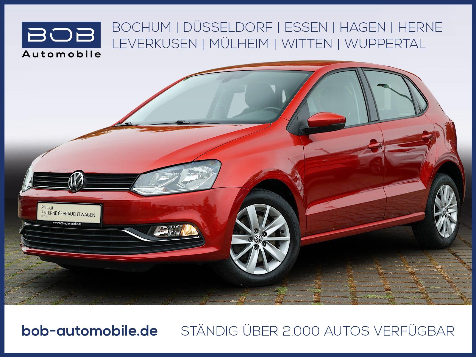 Volkswagen Polo 1.2 TSI Highline CLIMATRONIC+TOUCH+WKR+ALU, Jahr 2015, Benzin