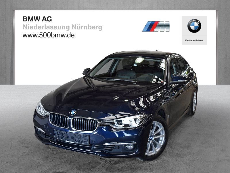BMW 330e iPerformance Luxury Line EURO6 Head-Up HK HiFi LED GSD, Jahr 2017, Hybrid