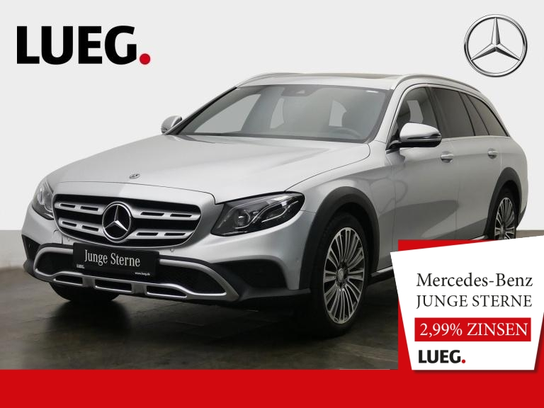Mercedes-Benz E 220 d T 4M All-Terrain COM+SHD+Mbeam+Airm+Wide, Jahr 2018, Diesel