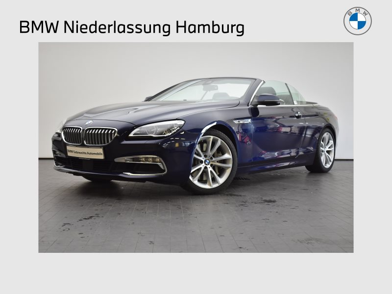BMW 650i Cabrio Head-Up HK HiFi Dyn. Dämpfer LED, Jahr 2016, Benzin