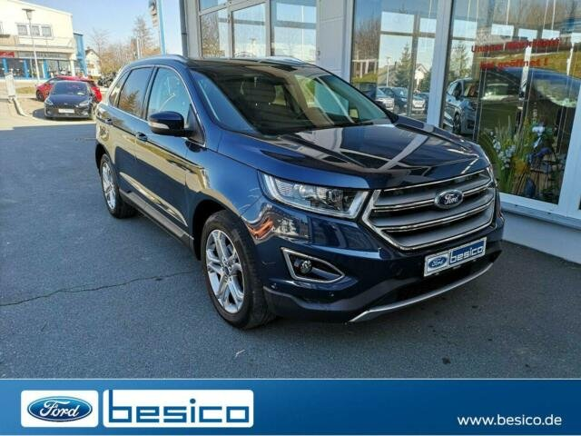 Ford Edge Titanium+LED+BLIS+NAV+Winter Paket+AHZV+PDC, Jahr 2017, Diesel