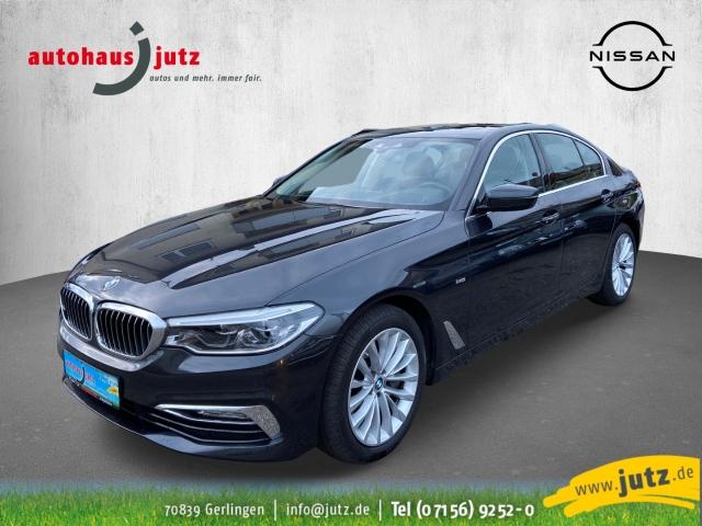 BMW 540 i xDrive Luxury Line Leder LED Navi Keyless e-Sitze HUD Rückfahrkam. Allrad Fernlichtass., Jahr 2017, Benzin