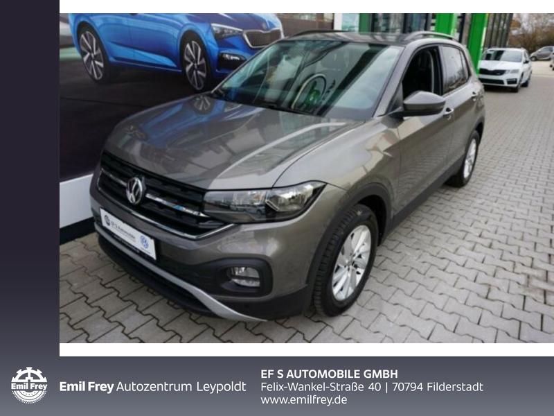Volkswagen T-Cross 1.0 TSI OPF Life Klima PDC Servo Radio ABS ZV, Jahr 2020, Benzin
