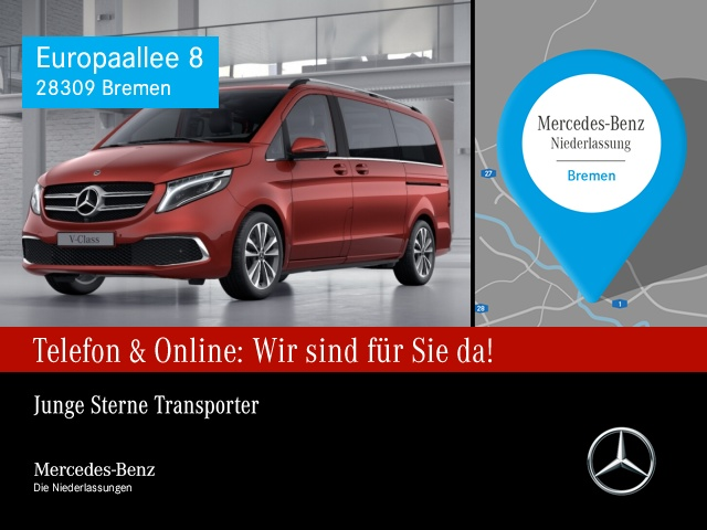 Mercedes-Benz V 300 d AVANTGARDE EDITION Lang AHK Comand RFK, Jahr 2019, Diesel