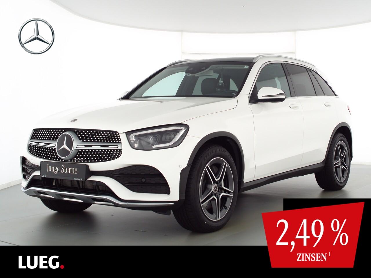 Mercedes-Benz GLC 200 4M AMG+MBUX+Nav+Pano+Mbeam+Sthzg+HUD+RFK, Jahr 2020, Benzin