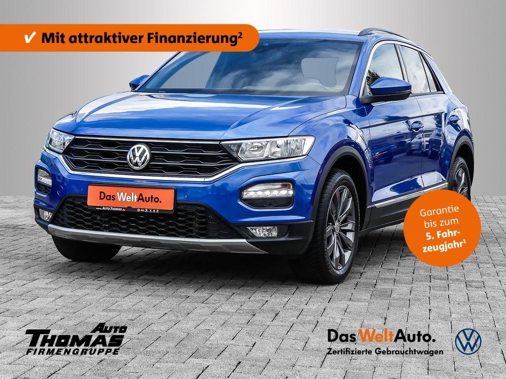 Volkswagen T-Roc Sport 1.5 l TSI OPF 110 kW (150 PS) 7-Gang- DSG, Jahr 2019, Benzin