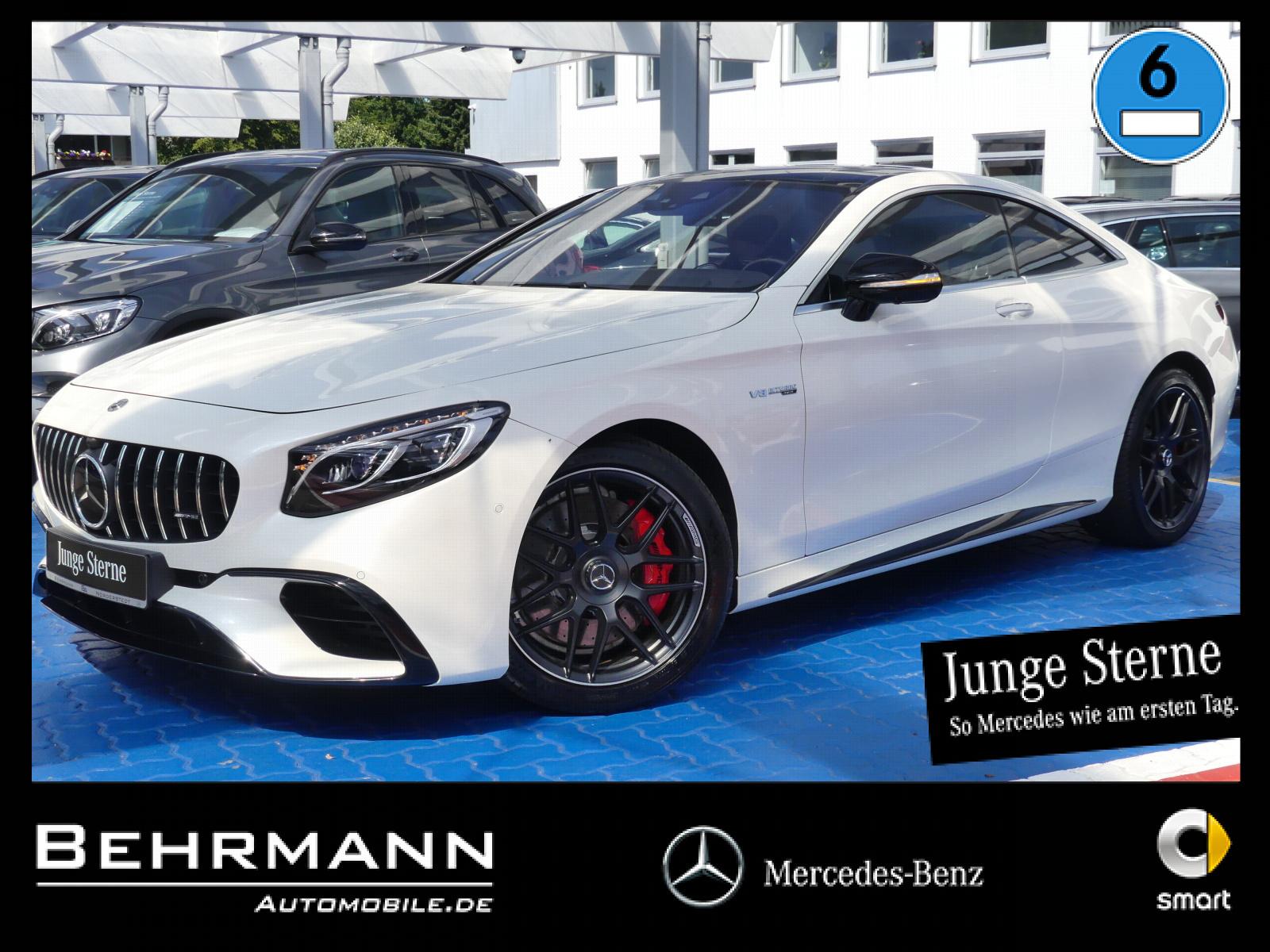 Mercedes-Benz S 63 AMG 4MATIC+ +Distronic+360°Kamera+Vmax+NFC+, Jahr 2018, Benzin