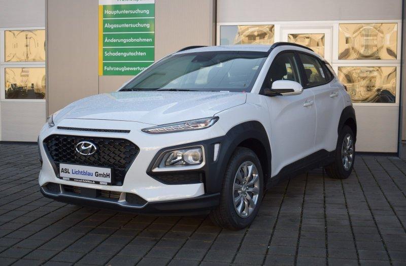 Hyundai Kona 1.0 T-GDi Select Klima Freisprech. WKR, Jahr 2019, Benzin