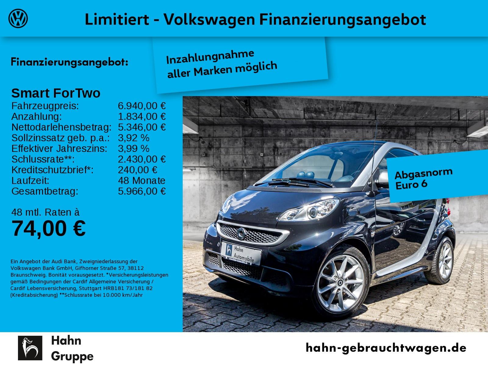 smart ForTwo coupe Elektro drive Pano Climatr Sitzh, Jahr 2015, Elektro