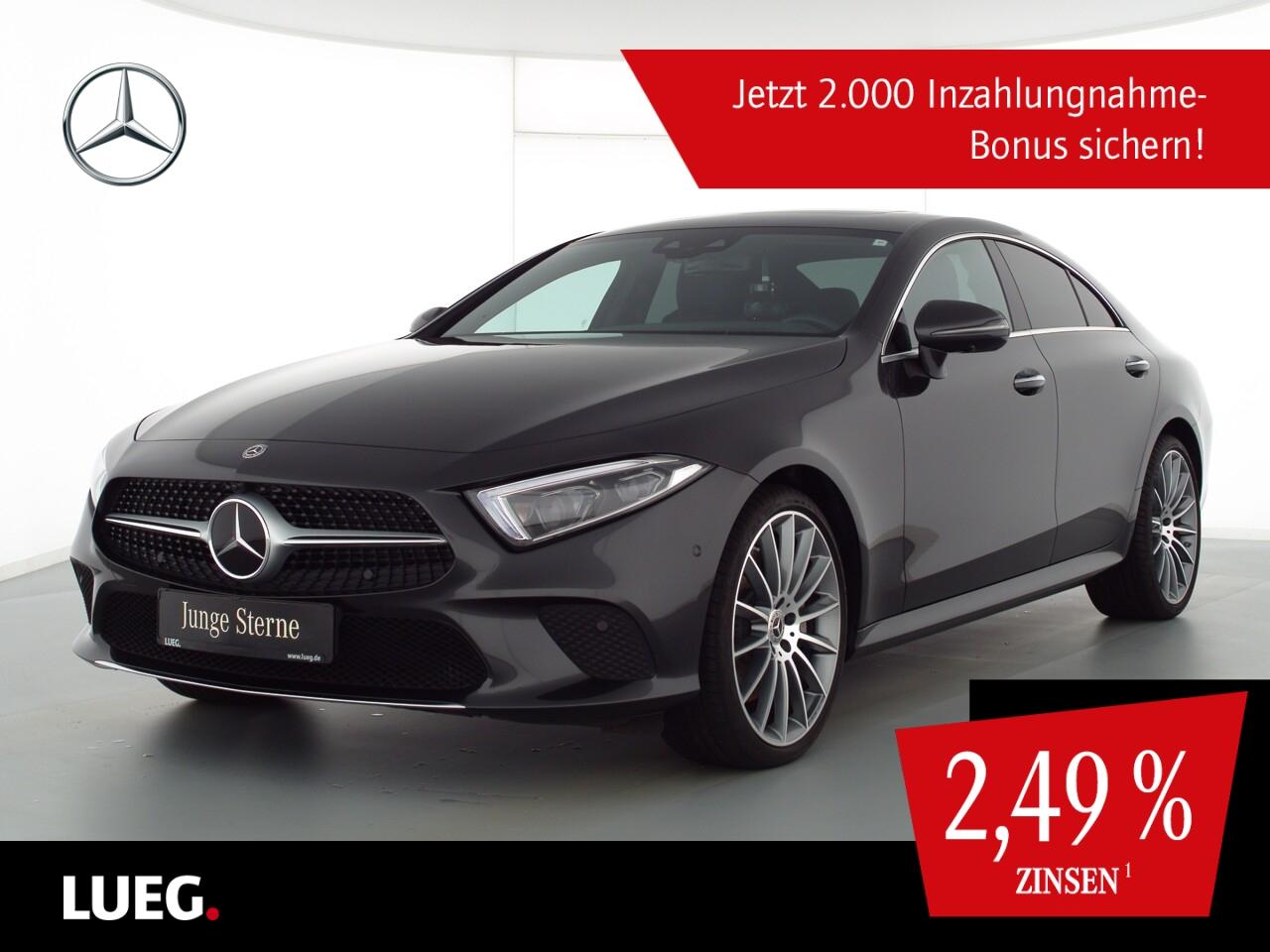 Mercedes-Benz CLS 450 4M COM+SHD+Burm+Mbeam+20AMG+Wide+Mem+360, Jahr 2018, Benzin