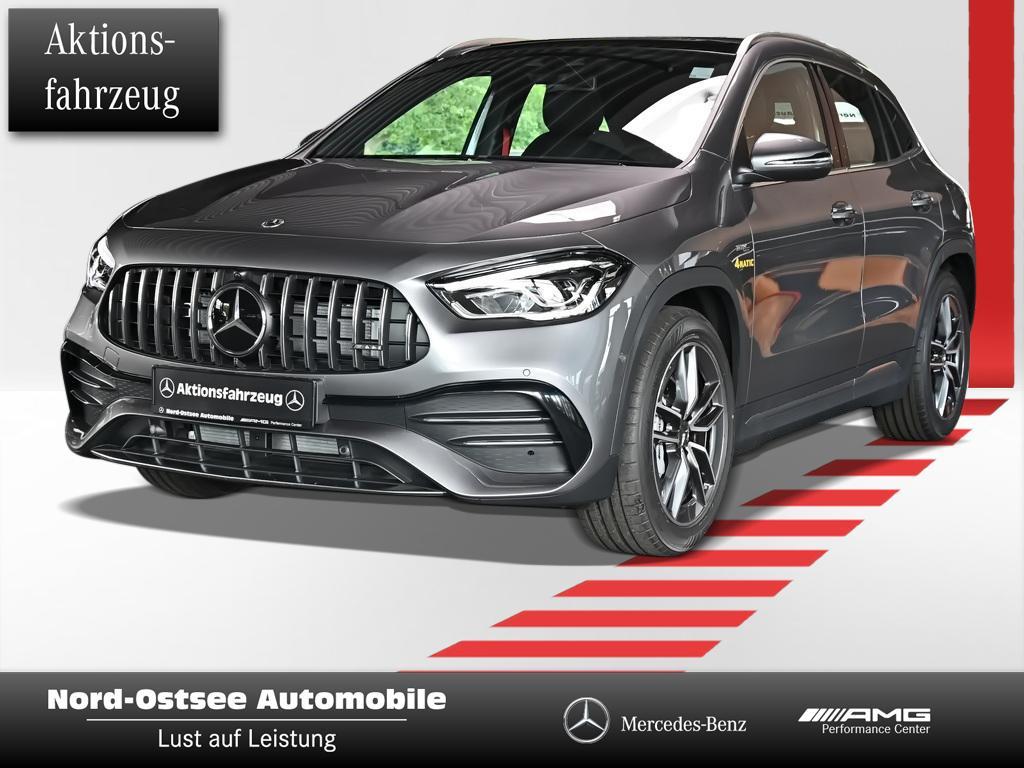 Mercedes-Benz GLA 35 AMG 4m PANO LED DISTRONIC PARK-PAKET AMBI, Jahr 2021, Benzin