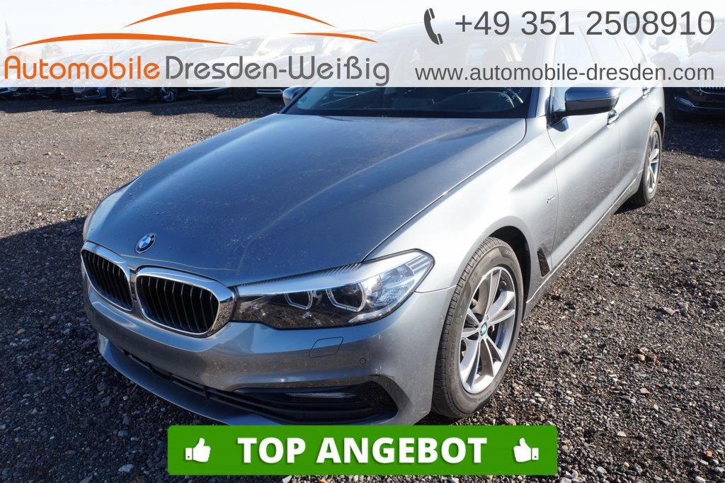 BMW 525 d Touring Sport Line*Navi*ACC*HeadUp*Leder*, Jahr 2017, Diesel