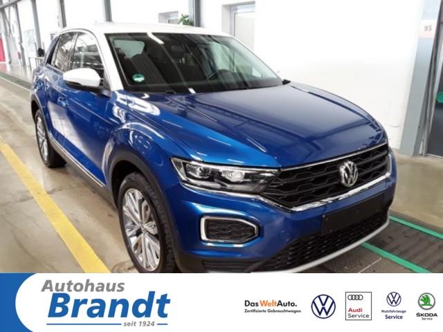 Volkswagen T-Roc 2.0 TDI Style DSG*LED*DC*STANDH*NAVI*ACC*, Jahr 2020, Diesel