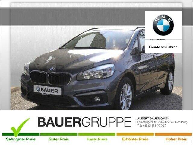 BMW 216 Active Tourer d Advantage Park-Assistent Keyless ACC El. Heckklappe PDCv+h LED-hinten, Jahr 2017, Diesel