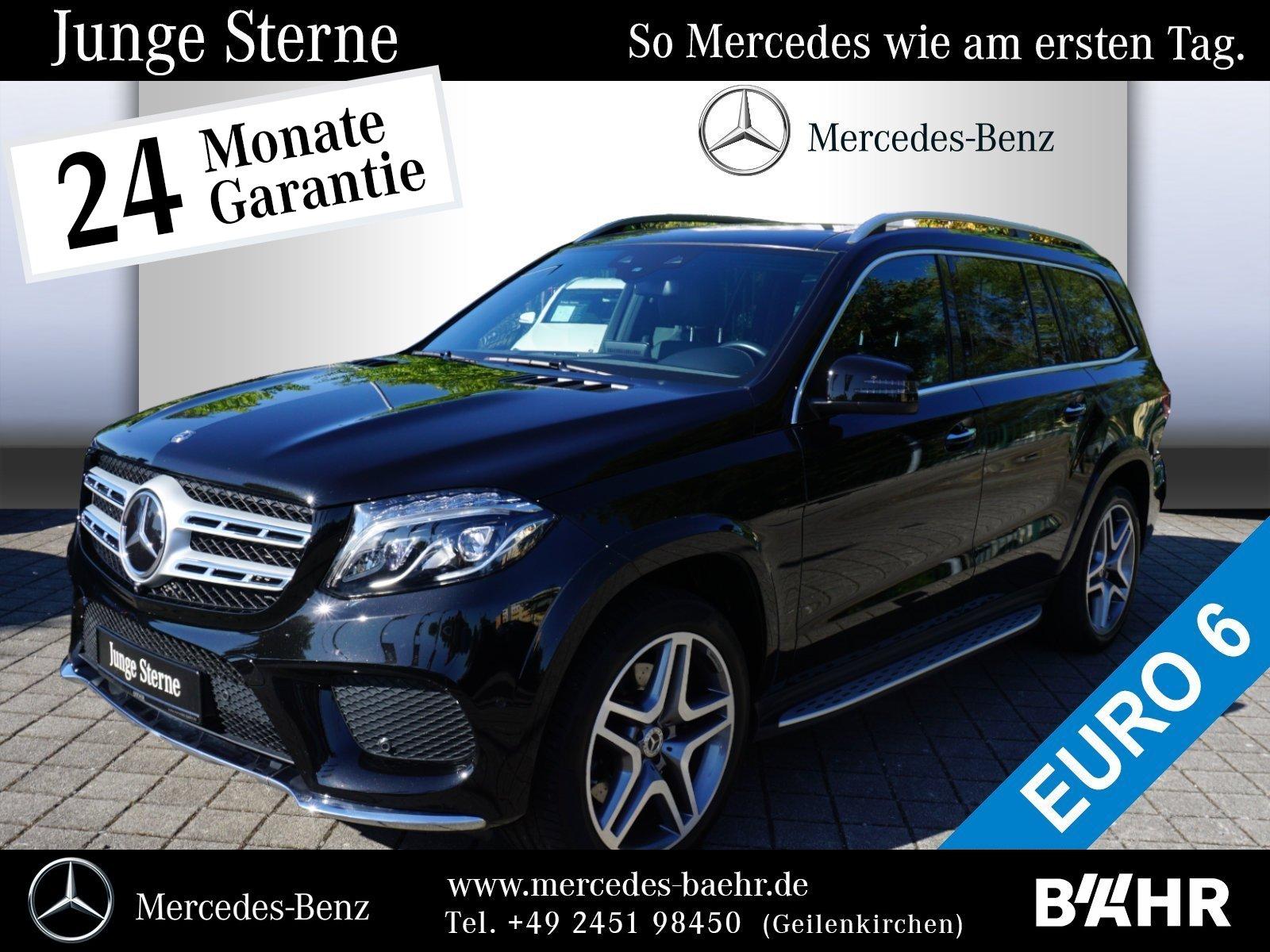 Mercedes-Benz GLS 500 4M AMG/Comand/ILS/360°/Pano/Airmatic/AHK, Jahr 2017, petrol