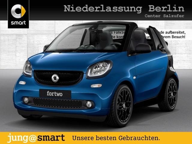 smart fortwo cabrio 52kW passion BRABUS DCT Sport SHZ, Jahr 2017, Benzin