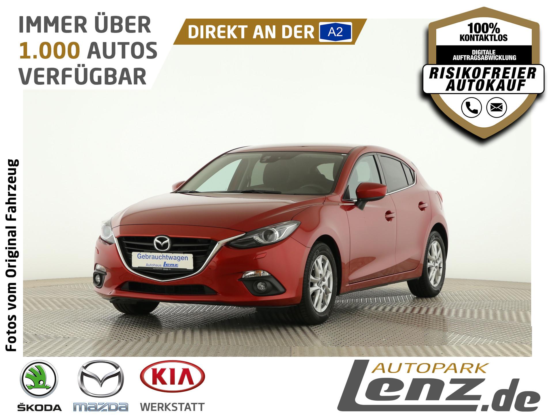 Mazda 3 Center-Line Xenon Navi PDC SHZ FSE USB LM RVM, Jahr 2015, Benzin