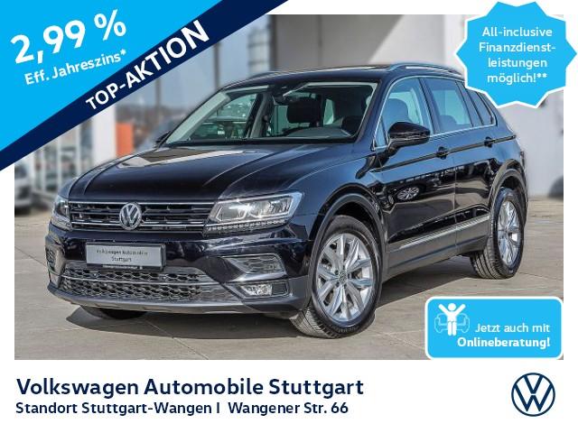 Volkswagen Tiguan Highline 2.0 TDI Navi AHK Pano Kamera ACC, Jahr 2019, Diesel