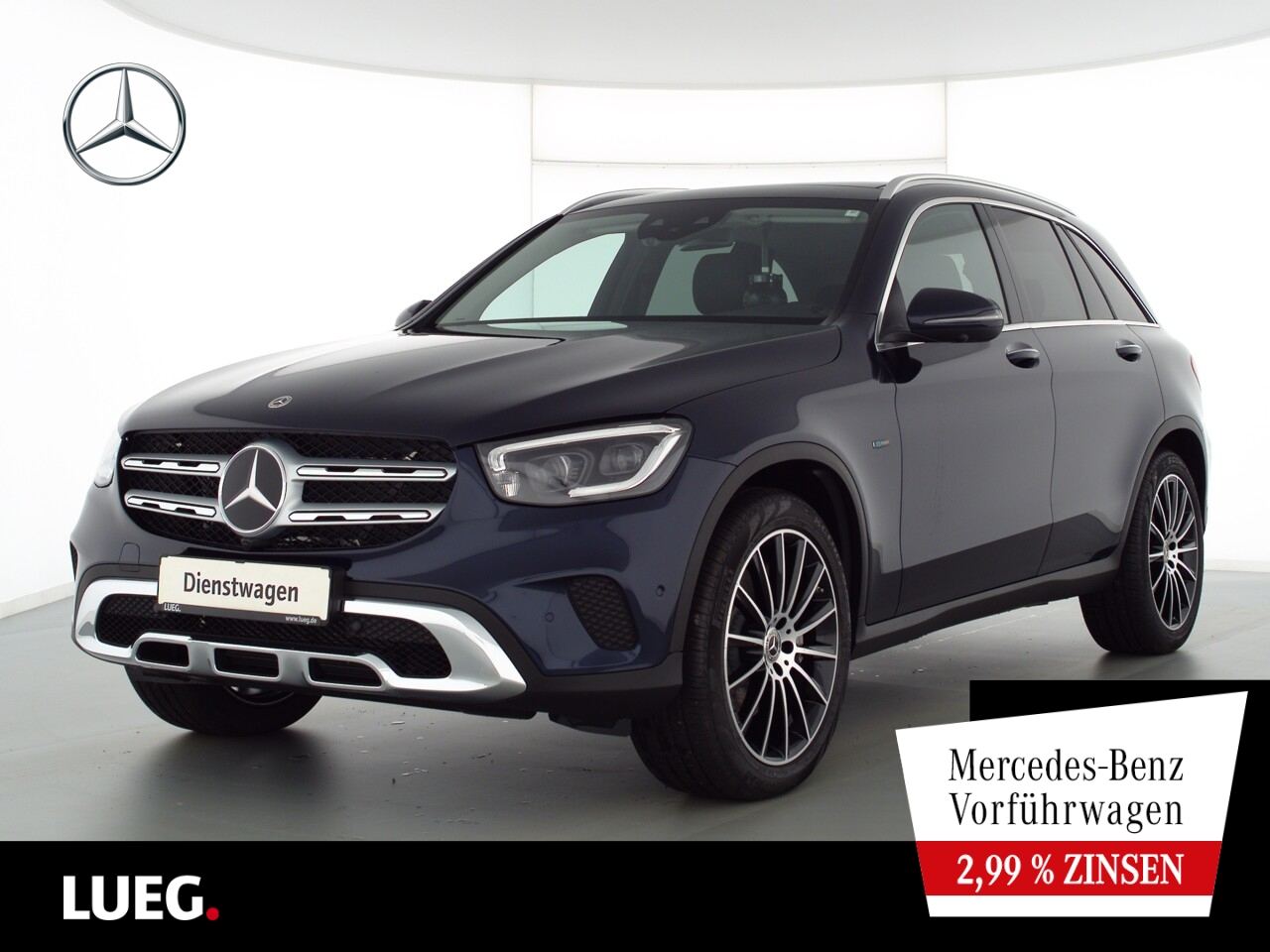 Mercedes-Benz GLC 300 e 4M AIRMATIC+HUD+PANO+20''-AMG+360+NP85, Jahr 2021, Hybrid