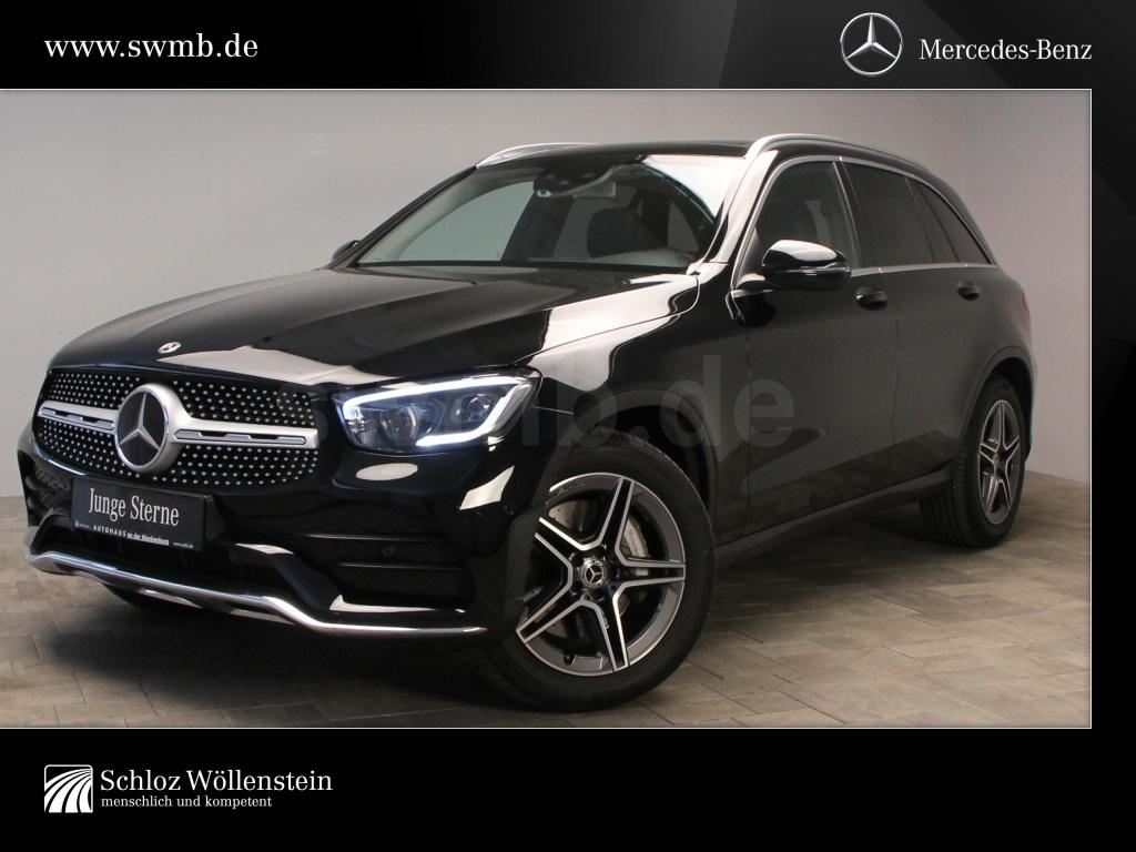 Mercedes-Benz GLC 400 d 4M AMG/MULTIBEAM/AHK/Pano-D/Fahrassist, Jahr 2020, Diesel