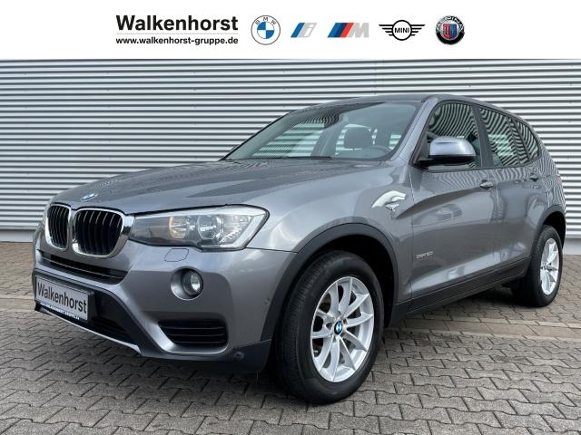 BMW X3 sDrive20i Navigation KomfortPaket AHK HiFi Klimaautomatik, Jahr 2014, Benzin