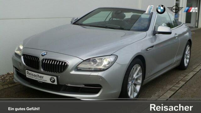 BMW 640i Sport-Aut.Cabrio Navi,Head-Up,HiFi,Xenon, Jahr 2014, Benzin