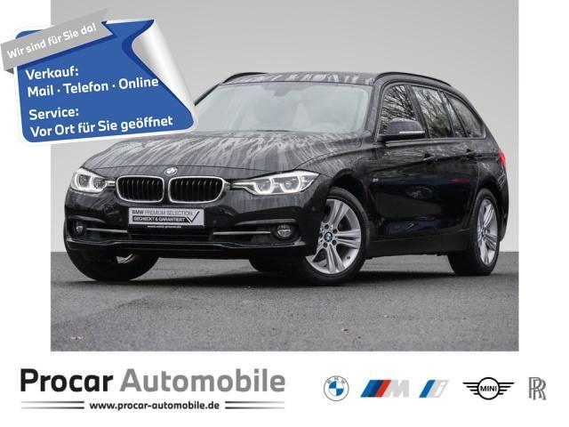 BMW 320i Touring Sport Line Navi Prof. Aut. PDC RFT, Jahr 2017, Benzin