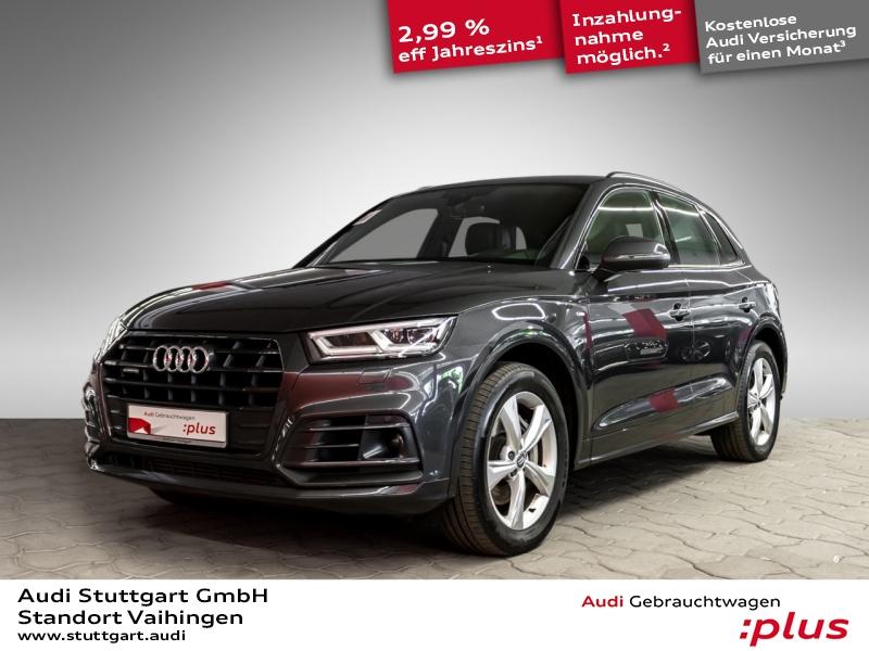 Audi Q5 3.0 TDI quattro S line ACC AIR Massage AHK, Jahr 2018, Diesel