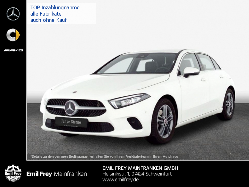 Mercedes-Benz A 220 Progressive Navi-Premium LED, Jahr 2019, Benzin