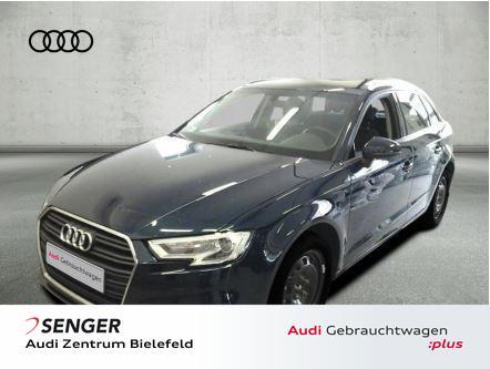 Audi A3 Sportback 30 TFSI Sitzhzg PDC GRA Klima, Jahr 2019, Benzin