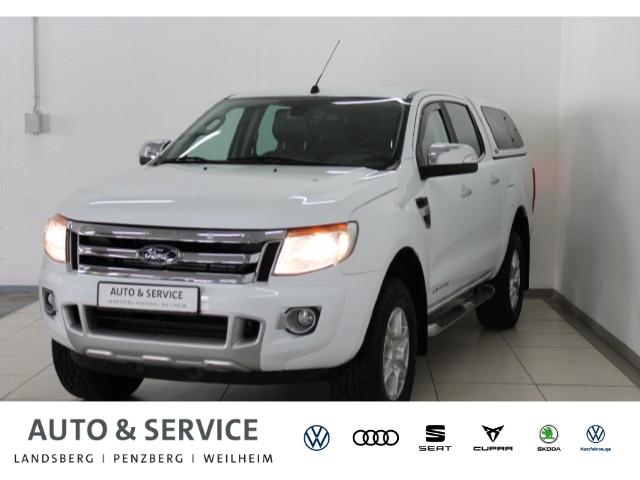 Ford Ranger DK 2.2 TDCi Limited 4x4 *AHK*STHZ*CAM*, Jahr 2015, Diesel