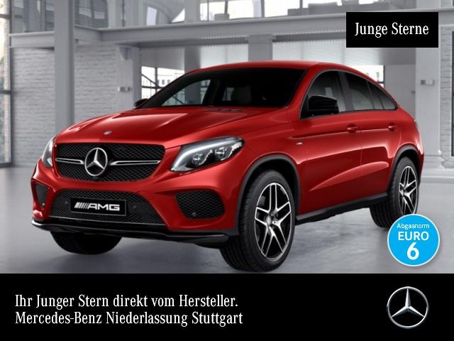Mercedes-Benz GLE 450 AMG Cp. 4M AMG 360° Airmat Stdhzg ILS LED, Jahr 2016, Benzin