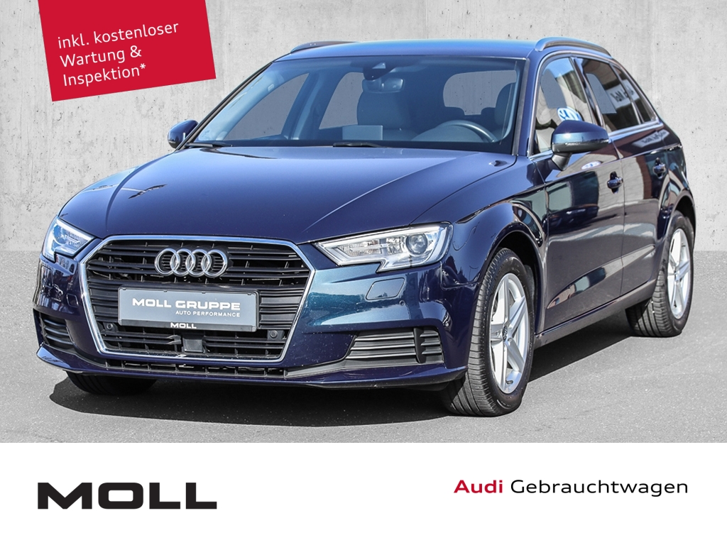 Audi A3 Sportback 1.6 TDI basis ALU NAVI XENON ACC, Jahr 2017, Diesel