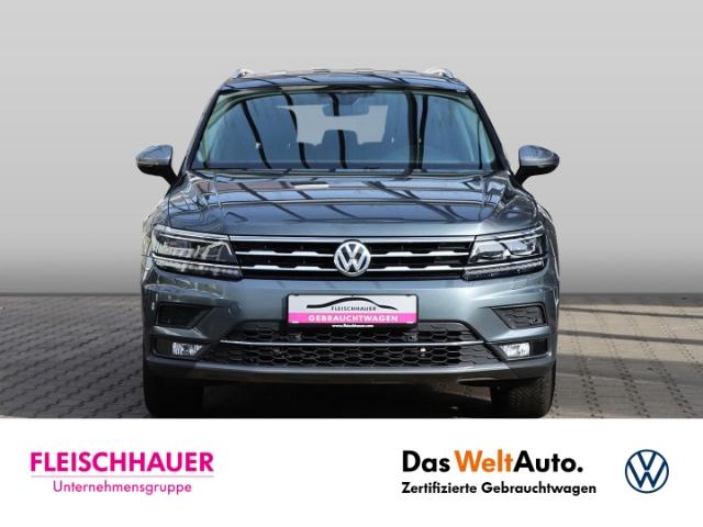 Volkswagen Tiguan Allspace Highline 4Motion 2.0 TDI LED NAVI ACC AHK, Jahr 2020, Diesel