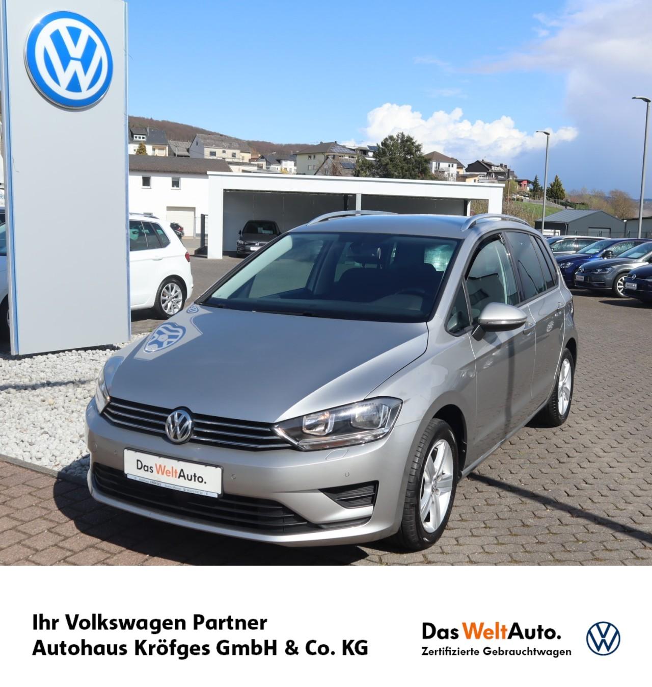 Volkswagen Golf Sportsvan Comfortline 1.2 L TSI BMT Klima, Jahr 2014, Benzin