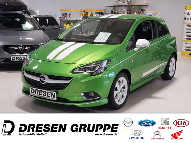 Opel Corsa E Color Edition ecoFlex 1.0 Turbo XENON/OPC LINE/20PS + CHIP, Jahr 2016, Benzin