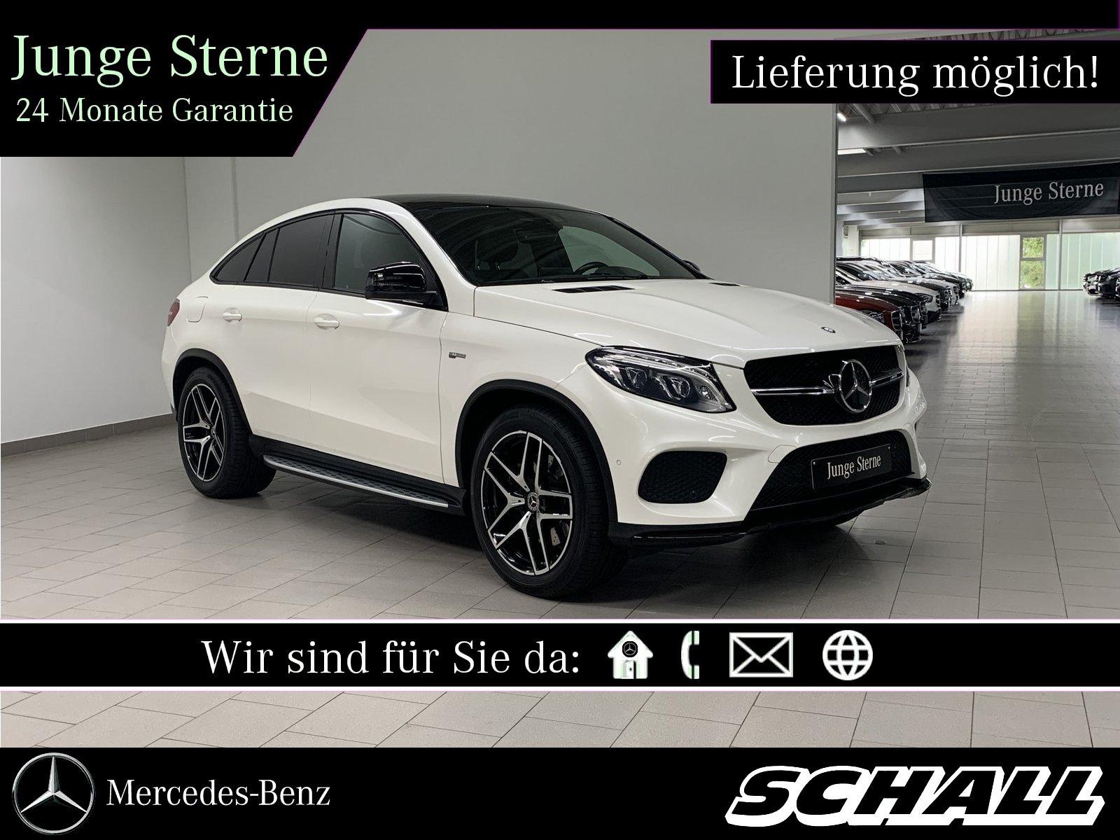 Mercedes-Benz GLE 43 AMG 4M COUPÉ AHK+KAMERA+PANO+DISTRONIC, Jahr 2017, Benzin