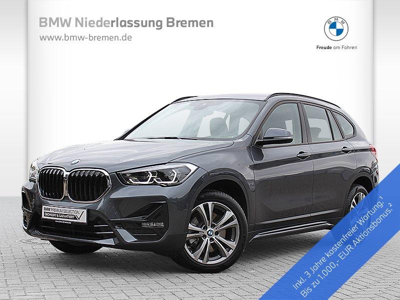 BMW X1 xDrive20d Sport Line LED Navi RTTI Alarm AHK, Jahr 2019, Diesel