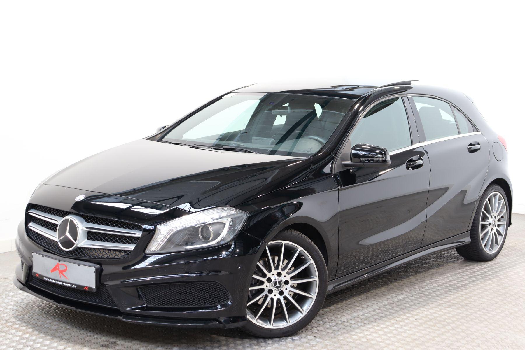 Mercedes-Benz A 180 AMG SPORT PANORAMA,TEMPOMAT,SCHECKHEFT,18Z, Jahr 2014, Benzin